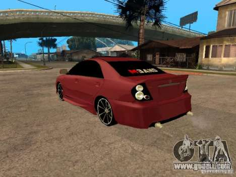 Toyota Camry 2005 TRD for GTA San Andreas left view