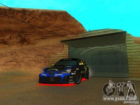 Subaru Impreza Gymkhana Practice for GTA San Andreas