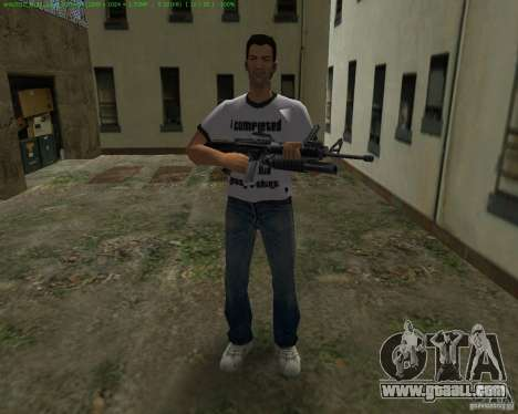 M-16 from Scarface for GTA Vice City forth screenshot