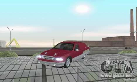 Chevrolet Caprice Majestic Nomad Custom 1992 for GTA San Andreas