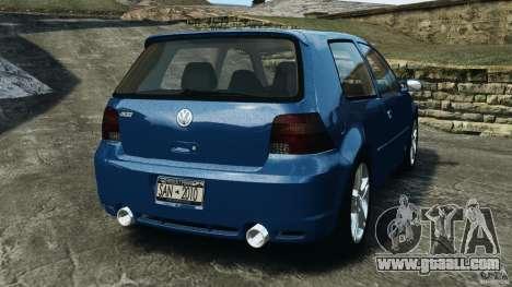 Volkswagen Golf 4 R32 2001 v1.0 for GTA 4 back left view