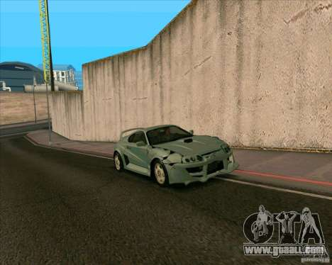 Toyota Supra from MW for GTA San Andreas back left view