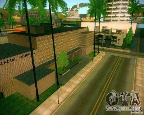 New textures All Saints General Hospital for GTA San Andreas