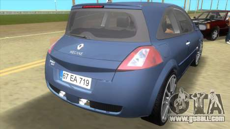 Renault Megane Sport for GTA Vice City back left view