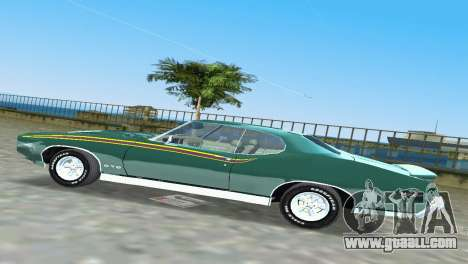 Pontiac GTO The Judge 1969 for GTA Vice City inner view