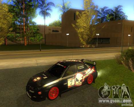 Subaru Impreza Colin McRae for GTA San Andreas