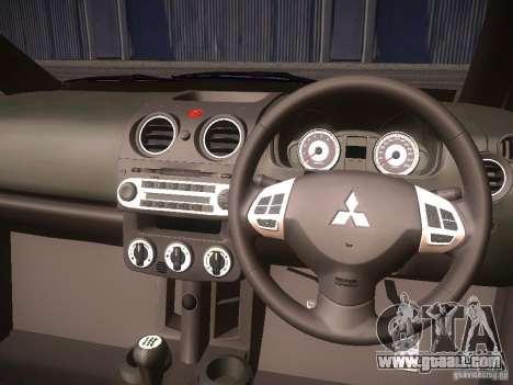 Mitsubishi Colt Rallyart for GTA San Andreas side view