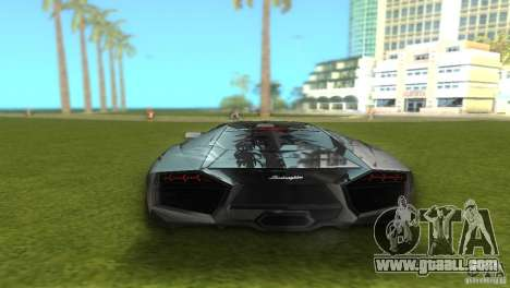 Lamborghini Reventon for GTA Vice City left view