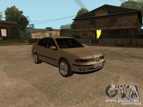 Seat Toledo 1.9 1999 for GTA San Andreas back view