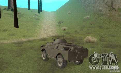BRDM-2 winter version for GTA San Andreas right view