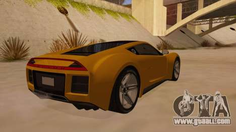 Saleen S5S Raptor 2010 for GTA San Andreas right view