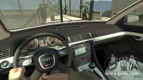 Audi A4 Avant beta for GTA 4 back view