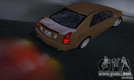 Cadillac CTS-V for GTA San Andreas right view