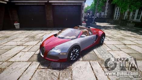 Bugatti Veyron Grand Sport [EPM] 2009 for GTA 4 right view