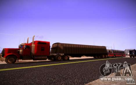 Kenworth W 900L for GTA San Andreas left view