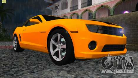 Chevrolet Camaro SS 2010 for GTA Vice City