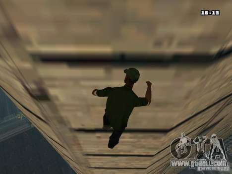 Parkour Mod for GTA San Andreas seventh screenshot