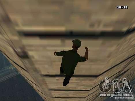 Parkour Mod for GTA San Andreas seventh screenshot