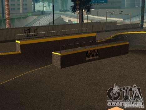 New SkatePark for GTA San Andreas forth screenshot