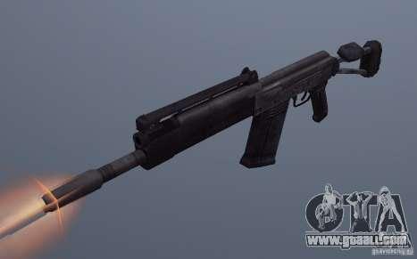 Izhmash Saiga-12K for GTA San Andreas
