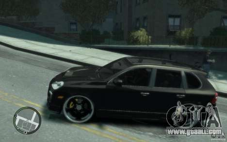 Porsche Cayenne for GTA 4 left view