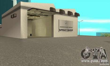 Mercedes Showroom v.1.0 (Autocentre) for GTA San Andreas third screenshot