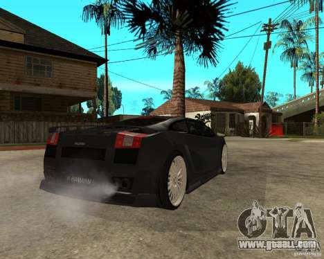 Lamborghini Gallardo HAMANN Tuning for GTA San Andreas