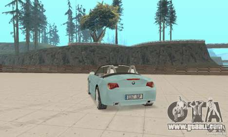 BMW Z4 Roadster 2006 for GTA San Andreas left view
