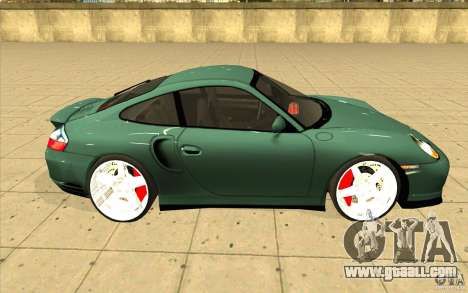 Porsche 911 Turbo for GTA San Andreas inner view