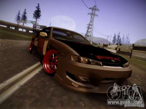 Nissan Silvia S14 Hell for GTA San Andreas left view