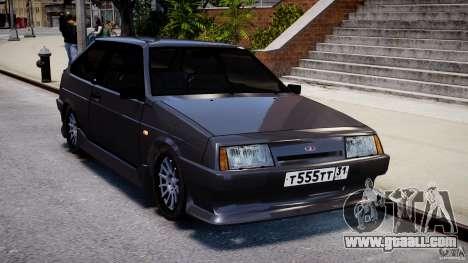 Vaz-2108 Sport for GTA 4 back view