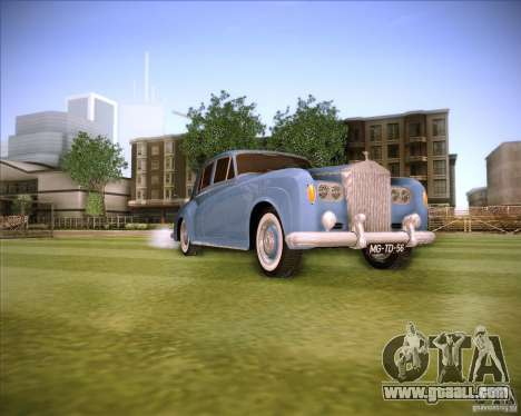 Rolls Royce Silver Cloud III for GTA San Andreas right view