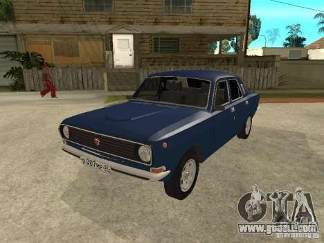 GAZ 24-10 for GTA San Andreas