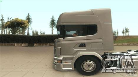 Scania V8 for GTA San Andreas left view