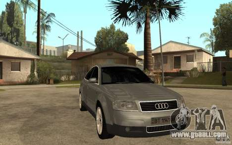 Audi A6 3.0i 1999 for GTA San Andreas back view