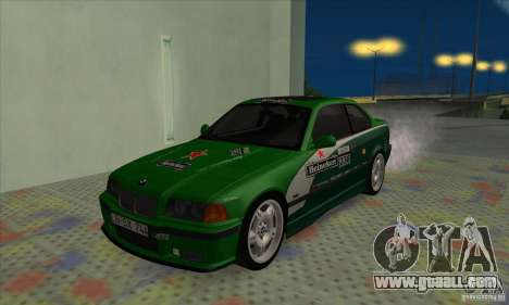 BMW M3 E36 for GTA San Andreas engine