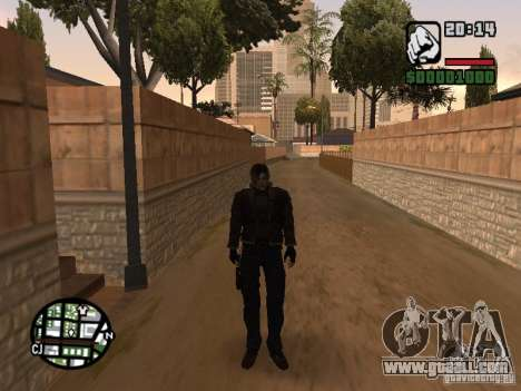 Updated Pak characters from Resident Evil 4 for GTA San Andreas second screenshot