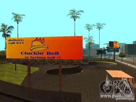 New SkatePark for GTA San Andreas sixth screenshot