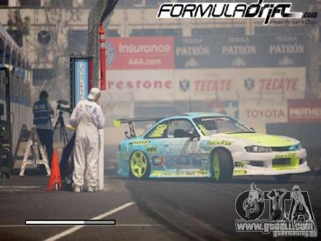 Loading screens Formula Drift for GTA San Andreas fifth screenshot