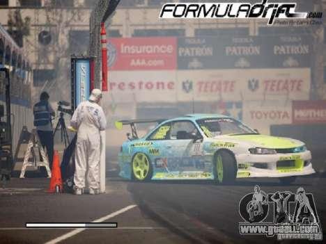 Loading screens Formula Drift for GTA San Andreas fifth screenshot