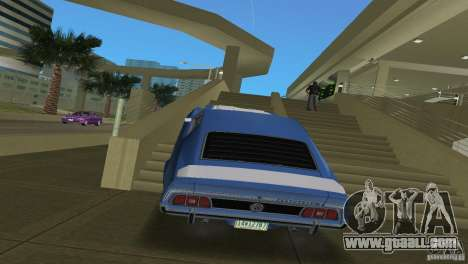 Ford Mustang 1973 for GTA Vice City right view