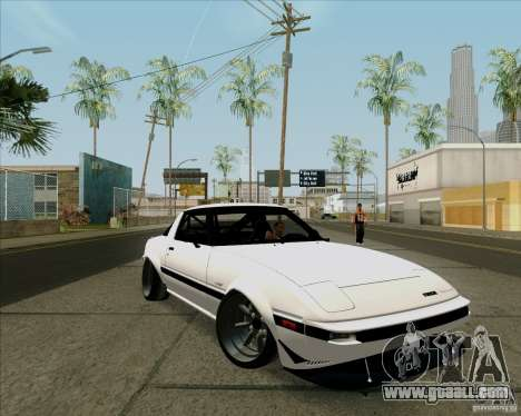 Mazda RX-7 FB Race for GTA San Andreas left view