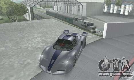 Ferrari FXX for GTA San Andreas side view