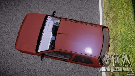 Fiat Palio 1.6 for GTA 4 inner view