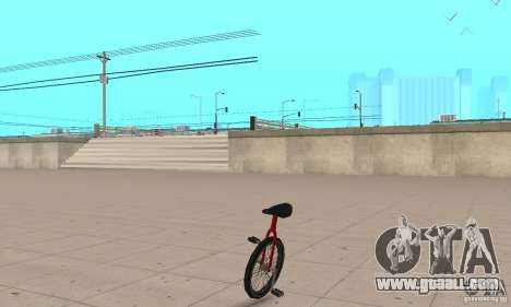 Unicycle for GTA San Andreas
