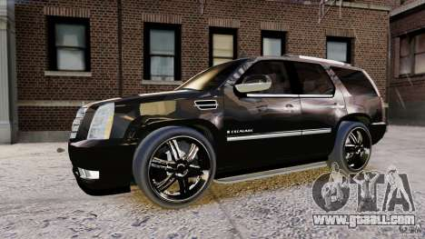 Cadillac Escalade 2007 v3.0 for GTA 4