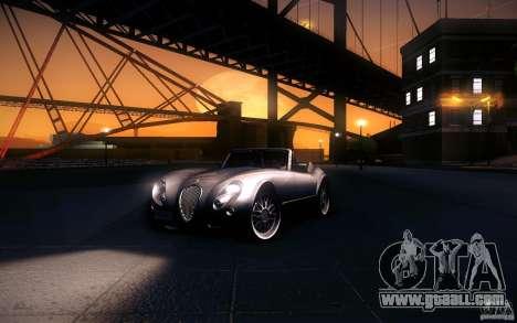 Wiesmann MF3 Roadster for GTA San Andreas bottom view