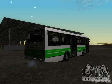 LAZ 42021 CWR for GTA San Andreas left view