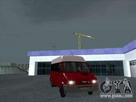 Iveco TurboDaily 35-10 for GTA San Andreas