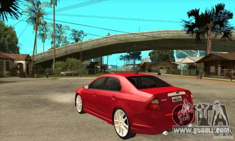Ford Fusion Hybrid for GTA San Andreas back left view